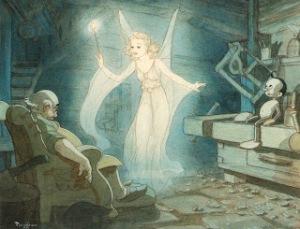Tenggren_Blue_fairy_workshop