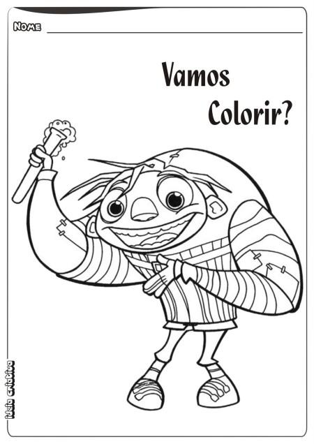igor filme colorir