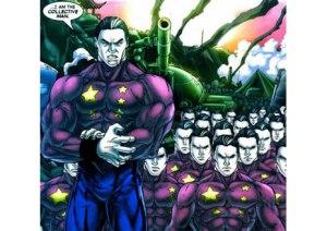 o mutant chinês, conhecido como homem coletivo abilidades que o permitem estar em todos os lugares travando batalhas, quanto mais é mais forte fica, esse é o poder da união