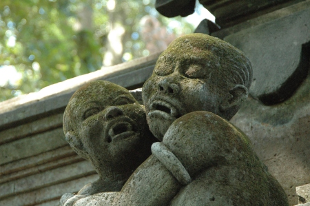 Vampire_Children Ubud, Floresta dos Macacos, Bali, Indonesia.