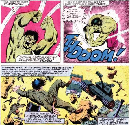 Hulk smash army